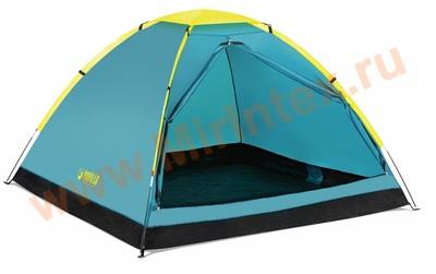 "Bestway 68085 Палатка 3-местная 210x210x130см ""Cooldome 3"" 1 слой, 190Т polyester PA, 300мм, 110гр/м2 PE."