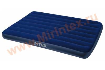 Надувные матрасы INTEX CLASSIC 120х191х22см