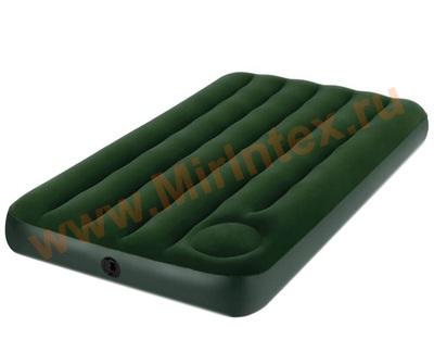 Надувные матрасы INTEX CLASSIC 99х191х22см(Cо встроенным ножным насосом)