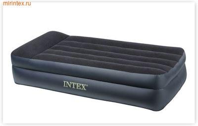 Надувные кровати INTEX Rising Comfort 99х191х42 см