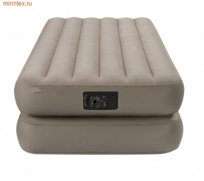 Надувные кровати INTEX Comfort 99х191х48 см, с встроенным насосом 220В