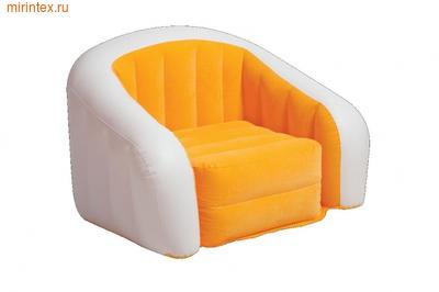 INTEX Кресло надувное 97х76х69 см (оранжевое)