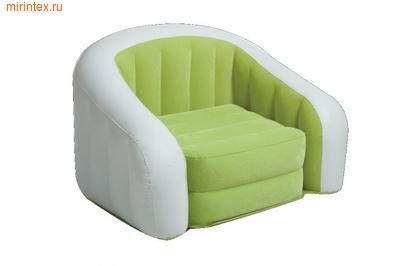 INTEX Кресло надувное 97х76х69 см (салатовое)