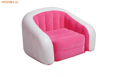 INTEX Кресло надувное 97х76х69 см (розовое)