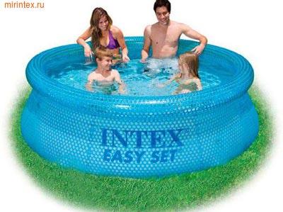 INTEX Бассейн надувной Clearview 244х76см