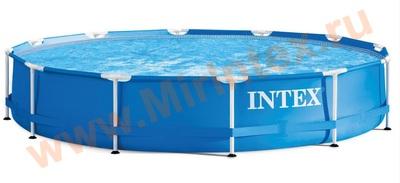 INTEX 28210 Каркасный бассейн Metal Frame 366х76 см., от 6 лет.