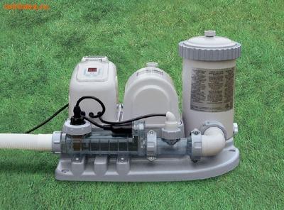INTEX Хлорогенератор с фильтр-насосом 220В (4 542 л/ч)