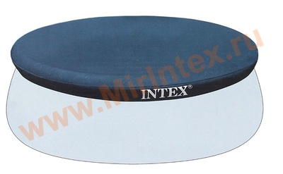 INTEX Тент для круглого бассейна с надувным кольцом 305 см