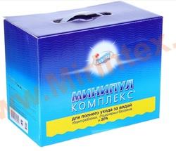 Минипул Комплекс 5,6 кг. Набор химии для комплексного ухода за водой плавательных бассейнов.