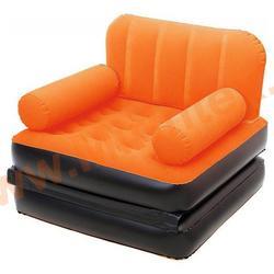 Bestway Кресло-трансформер 191х97х64 см (оранжевый/чёрный)
