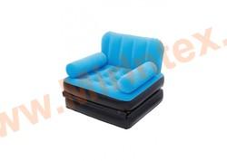 Bestway Кресло-трансформер 191х97х64 см (голубой/чёрный)