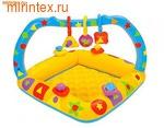 """INTEX Бассейн детский """"Ясли"""" с надувным дном 91х91х66 см (от 1 года)"""
