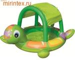 "INTEX Бассейн детский ""Черепашка"" 180х145х104 см (от 1 года)"
