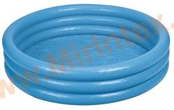 INTEX Бассейн Синий кристалл 114х25см, от 3 лет
