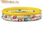 "INTEX Бассейн детский ""Геометрия"" 114х25 см (от 3-х лет)"