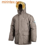 """NovaTour Куртка """"Аляска"""" зимняя городская.(Коричневая)"""