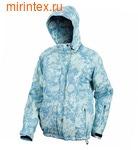 """NovaTour Женская зимняя куртка """"Рапид W""""(Голубой принт 116)"""