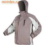 """NovaTour Куртка 3 в 1 """"Эксель""""(Серый/светлосерый)."""