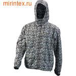 """NovaTour Ветровка """"Максим"""" мужская(Черно-серый принт)"""