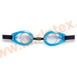 INTEX Очки для плавания(Синие) Play Goggles, 3-10 лет