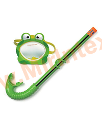 INTEX Набор маска с трубкой Froggy, 3-10 лет