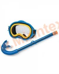 INTEX Набор маска с трубкой Adventurer, 3-10 лет