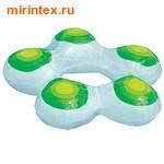INTEX Круг Звезда 74х71 см(зеленый)