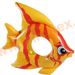 INTEX Круг Tropical Fish 94х80 см (жёлтый)