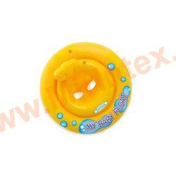 INTEX Круг желтый Мой маленький плот, с трусами, 67см, 1-2 года