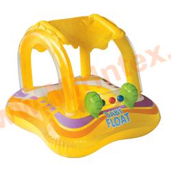 INTEX Круг Baby Float 81х66 см (с трусами и навесом)
