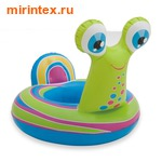 INTEX Круг Улитка с трусами, 3-5 лет (99х69см)