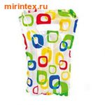 INTEX Плотик детский 71х51 см, (узоры)