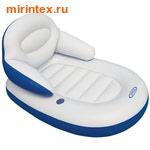 INTEX Матрас со спинкой Comfy cool 184х117см