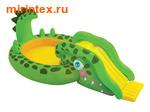 "INTEX Игровой центр ""Аллигатор"" 251х140х86 см"