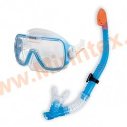 INTEX Набор Wave Rider (маска с трубкой) от 8 лет