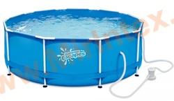 Summer Escapes Бассейн каркасный круглый 305х106 см (фильтр-насос 2,27м3 220В)