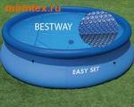 Bestway Тент солнечный для круглого бассейна 457 см