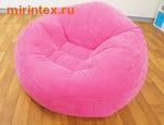 INTEX Кресло надувное 107х104х69 см (Розовое)