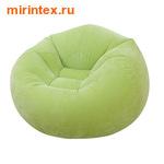 INTEX Кресло надувное 107х104х69 см (Салатовое)