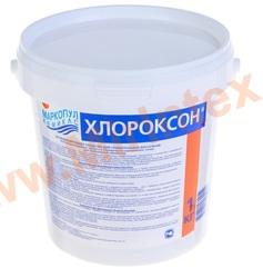 """Хлороксон 1кг хлорное гранулированное средство """"3 в 1"""" для комплексной обработки бассейнов."""