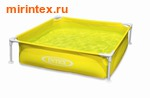 "INTEX Сборный каркасный бассейн ""Intex 57172 Mini Frame Pool""(жёлтый)"