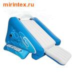 INTEX Детская надувная водная горка 343х206х127 см (от 6-и лет)