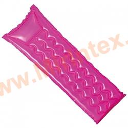INTEX Пляжный надувной матрас Relax-A-Mat 183х69 см (розовый)