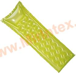 INTEX Пляжный надувной матрас Relax-A-Mat 183х69 см (салатовый)