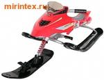 Снегокат Snow Storm RACER, красный