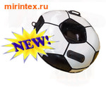 Санки-ватрушка 100см Мяч с автокамерой