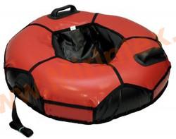 Санки-ватрушка 90см Мяч с автокамерой