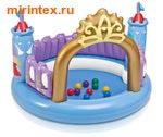 INTEX Игровой центр Принцесса 130х91см