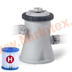 "INTEX 28602 Картриджный насос-фильтр ""Krystal Clear"", 1250 л/ч."