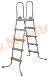 Bestway 58337 Лестница для бассейнов, высота 132 см.(с площадкой)